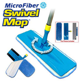 Microfiber Swivel Mop As Seen On Tv