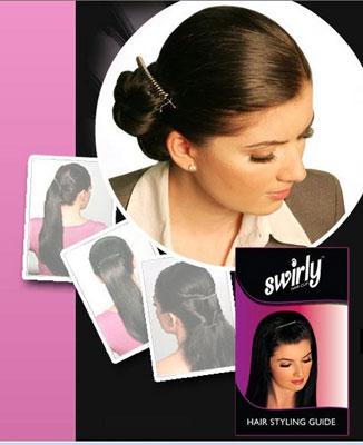 Swirly Hair Clip