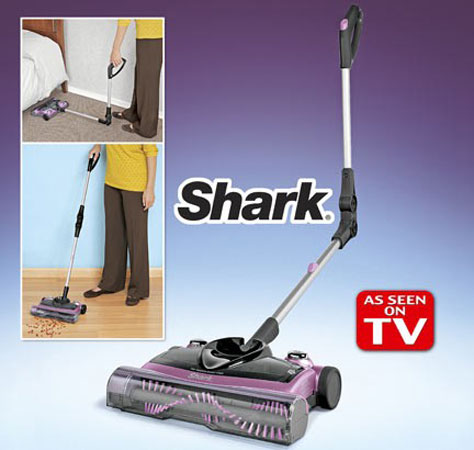 Shark Cordless Floor And Carpet Sweeper Purple Carpet