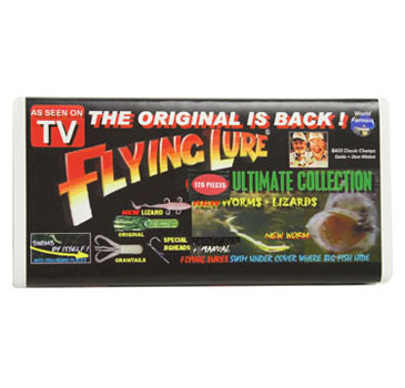 Flying lure as seen on tv for Fishing lure as seen on tv