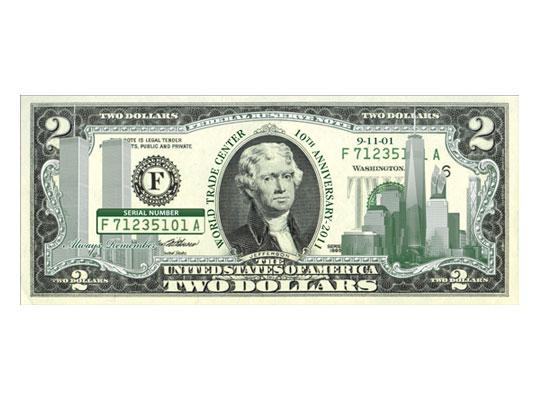 9-11 $2 Bill